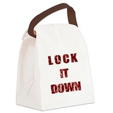 Lock it Down Canvas Lunch Bag