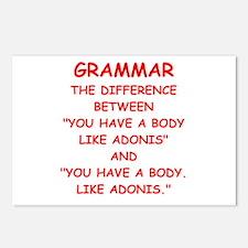 grammar Postcards (Package of 8)