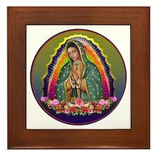 Guadalupe Circle - 1 Framed Tile