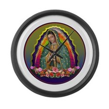Guadalupe Circle - 1 Large Wall Clock
