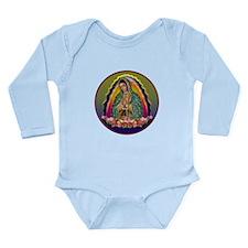 Guadalupe Circle - 1 Long Sleeve Infant Bodysuit