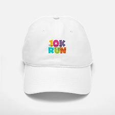 10K Run Multi-Colors Baseball Baseball Cap