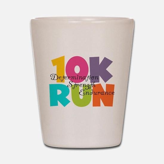 10K Run Multi-Colors Shot Glass