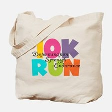 10K Run Multi-Colors Tote Bag