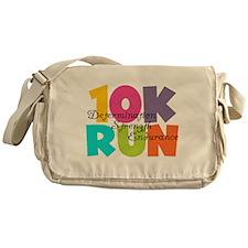 10K Run Multi-Colors Messenger Bag