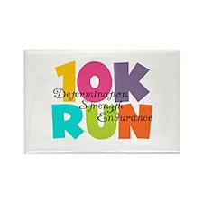 10K Run Multi-Colors Rectangle Magnet (100 pack)