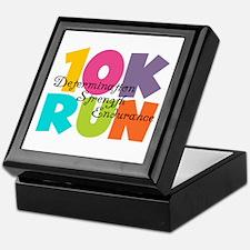 10K Run Multi-Colors Keepsake Box