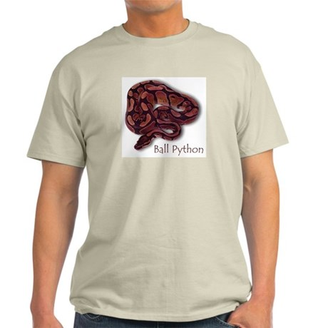 Ash Grey T-Shirt - Ball Python