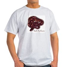 Ash Grey T-Shirt - Ball Python