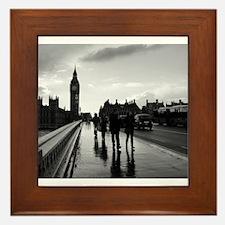 Westminster Bridge Framed Tile