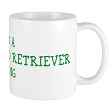 Curly-Coated Retriever thing Mug
