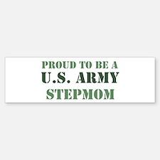Proud Army Stepmom Bumper Bumper Bumper Sticker