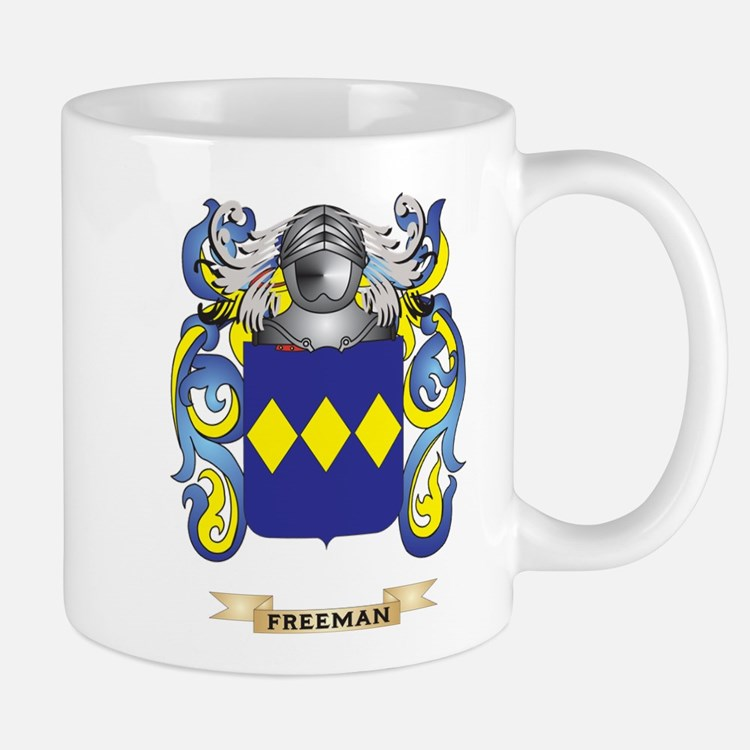 Freeman Coat of Arms Mug