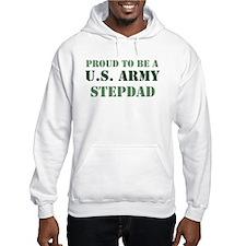 Proud Army Stepdad Hoodie Sweatshirt