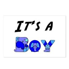 It's a BOY Postcards (Package of 8)