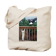 Cat Flight Tote Bag