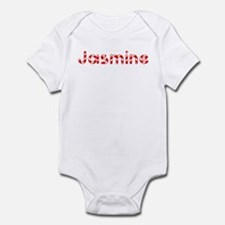 Jasmine - Candy Cane Infant Bodysuit