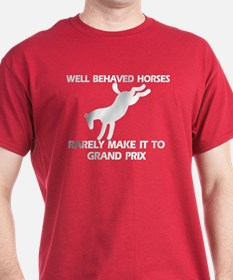 Well Behaved Horses T-Shirt