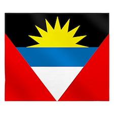 Antigua and Barbuda Flag King Duvet