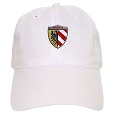 Nuremberg Germany Metallic Shield Baseball Baseball Cap