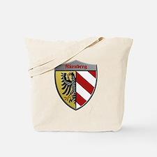 Nuremberg Germany Metallic Shield Tote Bag