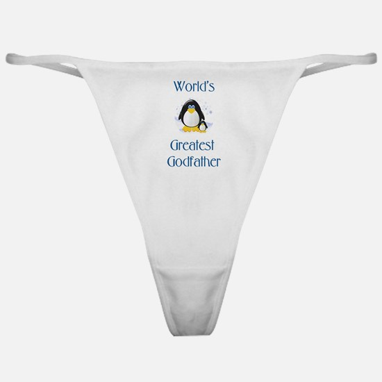 World's Greatest Godfather (penguin) Classic Thong