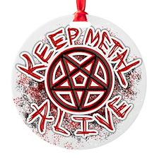 Keep Metal Alive Ornament