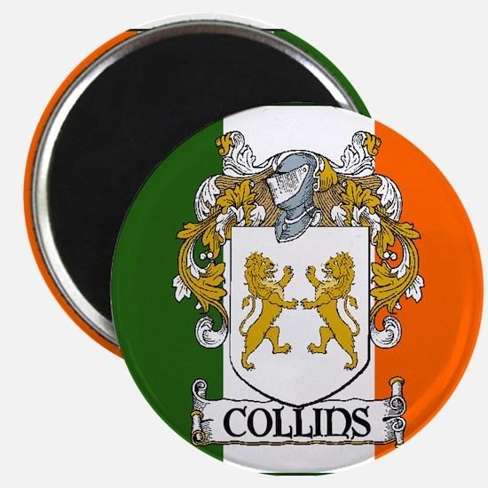 """Collins Tricolour 2.25"""" Magnet (10 pack)"""