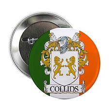 """Collins Tricolour 2.25"""" Button (10 pack)"""