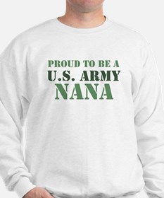 Proud Army Nana Sweater