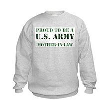 Proud Army Mother In Law Sweatshirt