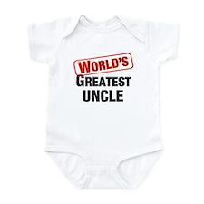 World's Greatest Uncle Infant Bodysuit