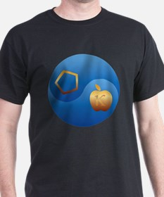 Sacred Chao (Blue & Gold), T-Shirt