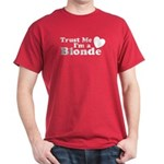 Trust Me I'm a Blonde Dark T-Shirt