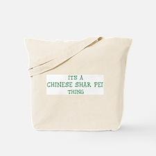 Chinese Shar Pei thing Tote Bag