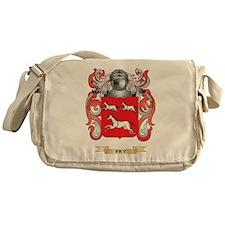 Fry Coat of Arms Messenger Bag