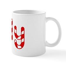 Holly - Candy Cane Mug