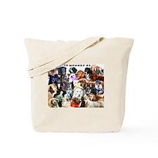 Unique Canine cancer Tote Bag