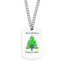 Christmas Hanukkah Interfaith Dog Tags
