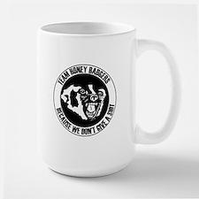 Team Honey Badgers Round Mug