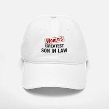World's Greatest Son In Law Baseball Baseball Cap