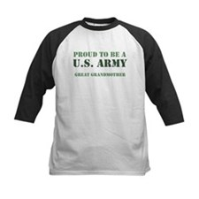 Proud Army Great Grandmother Tee