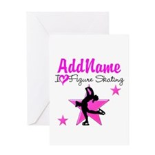 LIVE TO SKATE Greeting Card