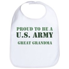 Proud Army Great Grandma Bib