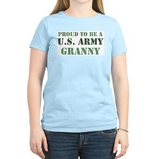 Proud Army Granny Women's Pink T-Shirt