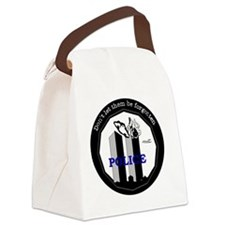 9-11 Police Canvas Lunch Bag
