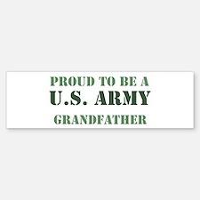 Proud Army Grandfather Bumper Bumper Bumper Sticker