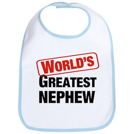World's Greatest Nephew Bib