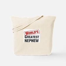 World's Greatest Nephew Tote Bag