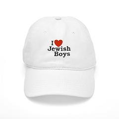 I Love Jewish Boys Baseball Cap